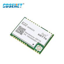 SX1262 LoRa bezprzewodowy Transceiver 850MHz-930MHz CDSENET E22-900M22S 915MHz SMD TCXO nadajnik-odbiornik moduł rf tanie tanio 900MHz E22(900M22S) 850-930MHz 20mm * 14mm 6500m 22dBm (158mW)