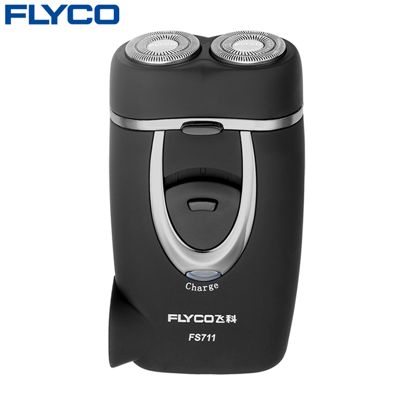 Flyco professional Sale Rushed Shaving Men Electric Razor Genuine Matte Surface Rechargeable Electric Rotary Men Shaver FS711 men s rechargeable rotary electric shaver
