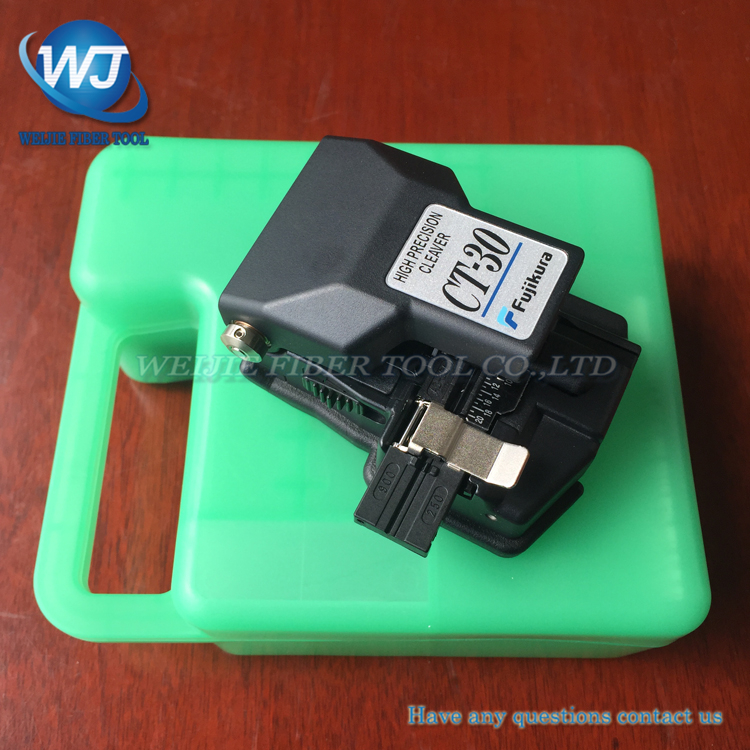 100% Original Fujikura CT-30 Ct30A Fiber Cleaver Optical Fiber Cleaver High Precision Optical Fiber Cutter Fiber Cutting