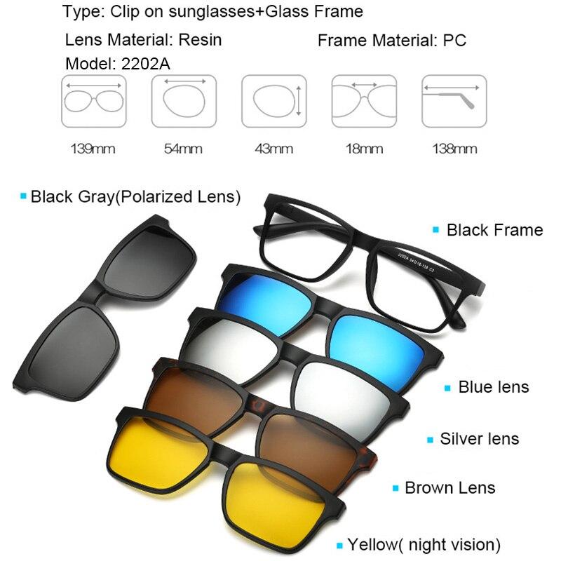 9350a2ed30ccc ... clip gafas Existen visión polarizado su la una magnético en anti  modelos en la sol