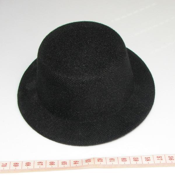 NEW plain DIY BLACK Fascinator Lady mini hat party top hat wedding party  hen party 02239ecf161
