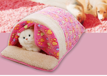 Dog House Bed Winter Warm Sweet Cama Para Cachorro Pet Kitten Puppy Cat Dog Cushion Couch Basket Sofa Bed Mat Pad