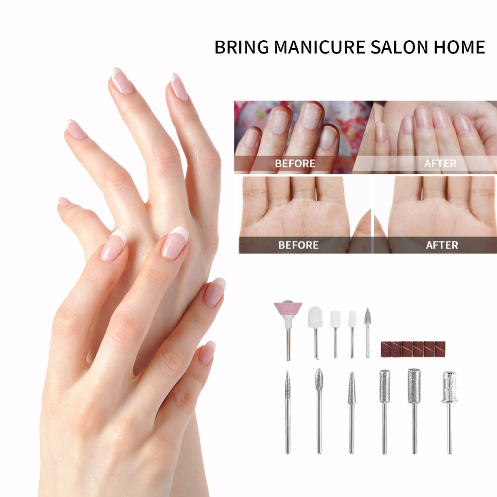 Electric Nail Drill with Polishing Tools Nail Clipper Set – Best ...