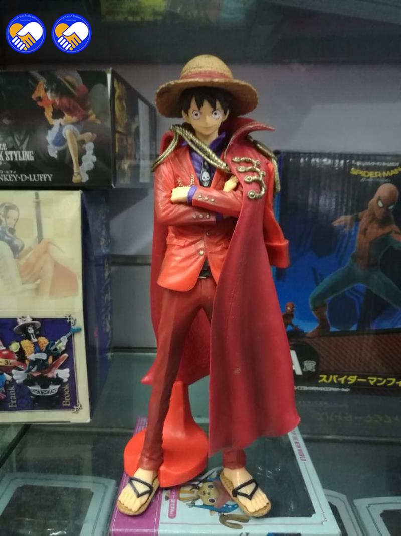 Original One piece OP King Of Art KOA The 20th Monkey .D.Luffy PVC Figure Toys Figurals Model Kids Dolls kickass kuties the art of lisa petrucci