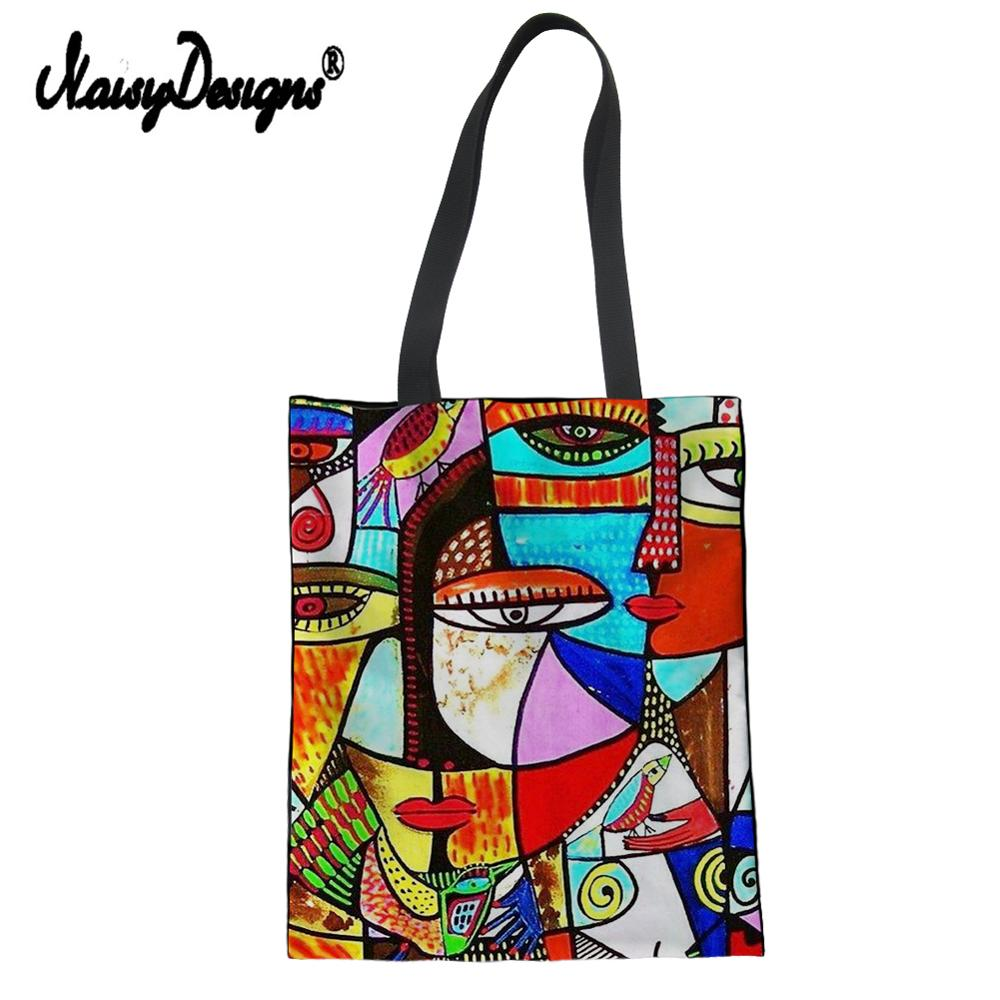 Summer Tote Canvas Messenger Shopping Bags For Women Girl 2019 Painting Franz Marc Printed Ladies High Quality Travel Handtasche