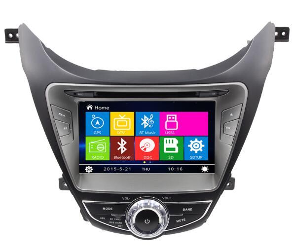 Car Dvd Gps Radio Navigation For Hyundai Elantra Avante