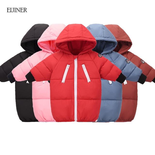 Special Price 90% White Duck Down winter children down jacket 2018 New winter jacket for kids girls Kids Hooded Jackets Parka Girls Outerwear