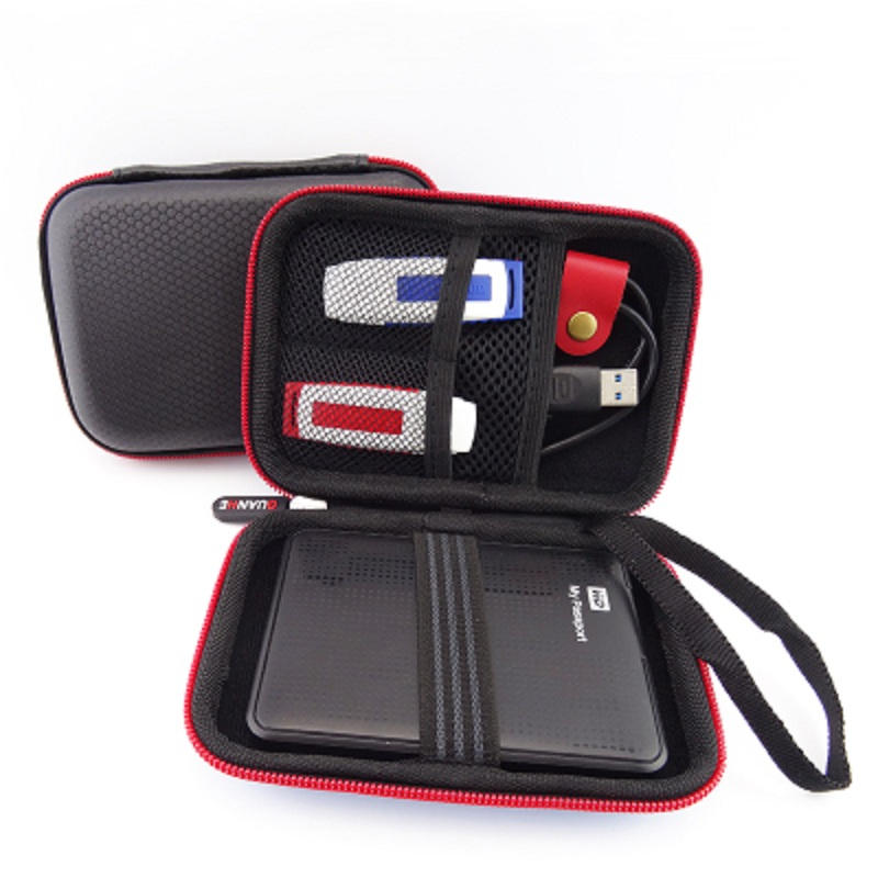 GUANHE HDD de 2.5 pulgadas bolsa de protección del disco duro móvil banco de la