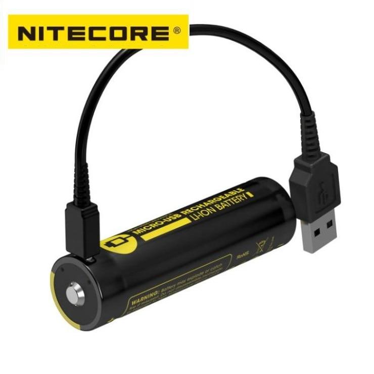 Image 2 - NITECORE NL1835R/NL1834R/NL1826R 3.6V 18650 battery High Performance Micro USB Rechargeable Li ion BatteryPortable Lighting Accessories   -