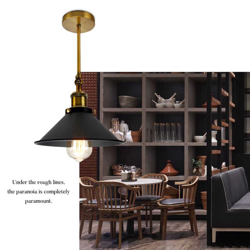 Винтажный промышленный подвесной светильник Эдисона, подвесной светильник для кухни в скандинавском стиле, ретро Лофт, настенный светильник s, светильник для столовой, Декор, светильник ing