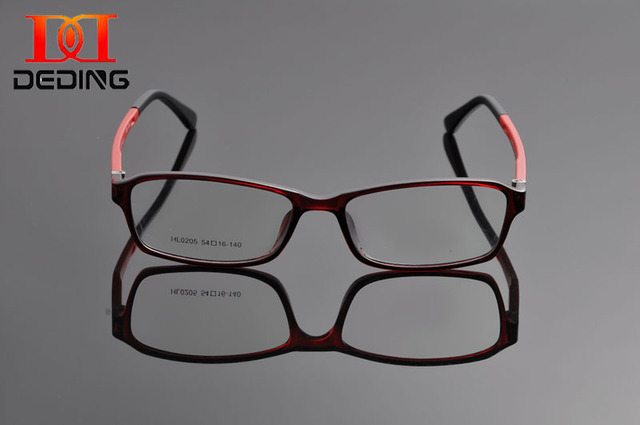 0f80799523a DeDing Super Light Slim TR90 Full Frame Comfortable Rectangle Men Glasses  Frame Women Optical Eye Glasses