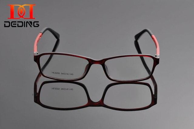 01f8feaff90 DeDing Super Light Slim TR90 Full Frame Comfortable Rectangle Men Glasses  Frame Women Optical Eye Glasses