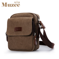 Muzee Man Bags Single Shoulder Bag Canvas Bag Inclined Shoulder Bag Business Leisure Package ME 1568