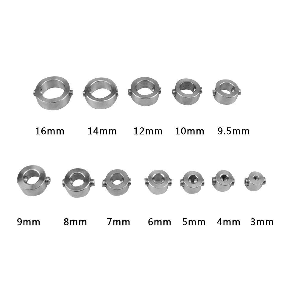 4//5//6//7//8//9//10mm Drill Bit Shaft Depth Stop Collars Ring Woodworking Positioner Spacing Ring Locator