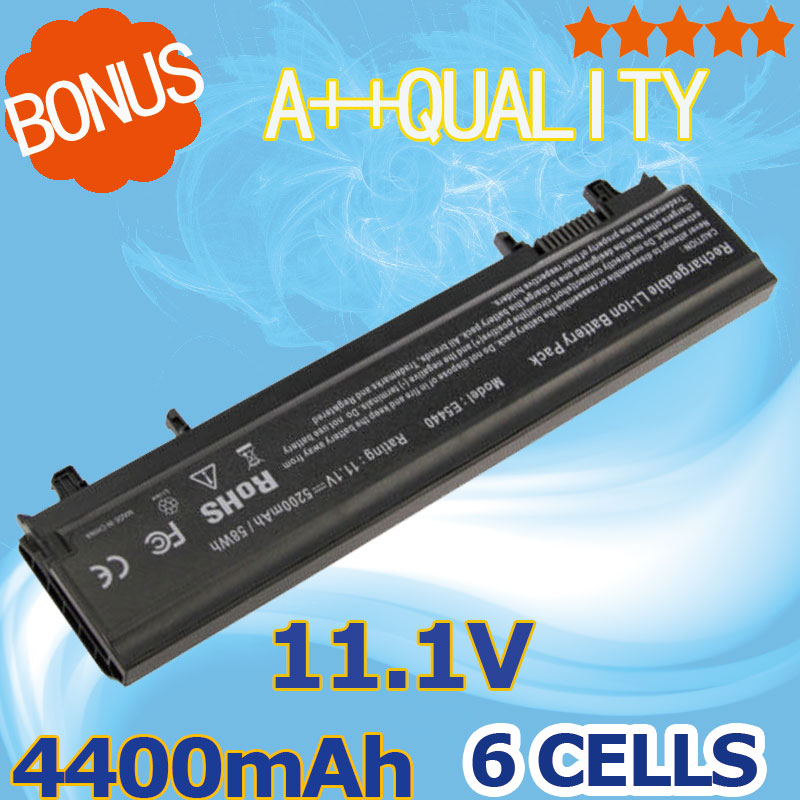 4400mAh 6 Cells Laptop Battery For Dell Latitude 3K7J7 970V9 9TJ2J N5YH9 TU211 VV0NF 451-BBID 451-BBIE 451-BBIF E5440 E5540 high capcity 12 cells laptop battery for dell for inspiron 1100 1150 5100 5150 5160 for latitude 100l 312 0079 451 10183 u1223