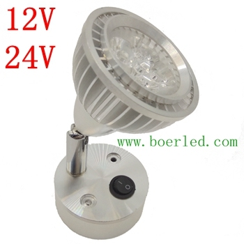 FREE SHIPPING 5W 12V 24V AMBULANCE INTERIOR LED SPOT LIGHT-in LED ...