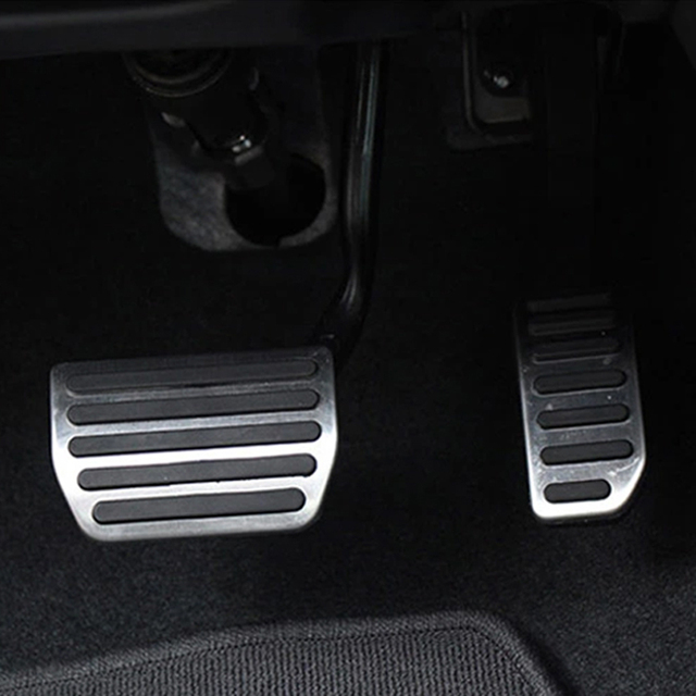 Stainless Steel Gas Fuel Brake Pedal Pads Mats Cover for Volvo XC60 XC70 V60 V70 S40 S60 S80L ...