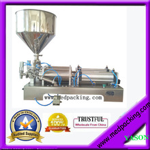 Double Heads  Semi Automatic Pneumatic Honey Filling Machine 50-500ml YS-MG7133 GRIND