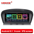 PX6 6 core android8.1 car dvd gps multimedia player per BMW 5 Serie E60 E61 E63 E64 E90 E91 E92 CCC CIC IPS ID7 ID6 EVO