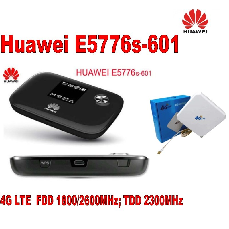 Unlocked Huawei E5776 E5776s-601 150Mbps Wireless Router +35dbi TS9 antenna