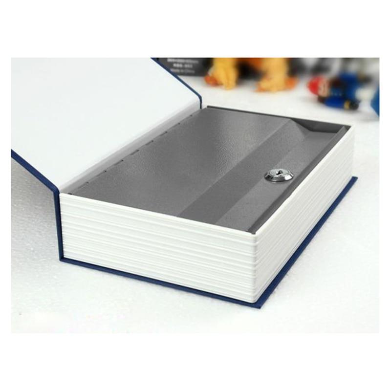 Dictionary Book Safe Diversion Secret Hidden Security Stash Booksafe Lock&Key Blue/red/black