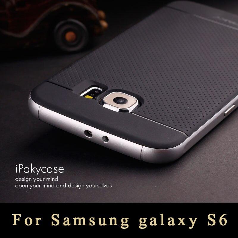 Para Samsung Galaxy S6 G9200 Caja de Lujo de calidad Superior de la Armadura de