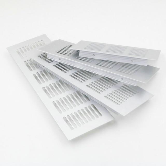 Superbe 5Pcs/Lot Premintehdw 200*80mm Aluminum Air Vent Ventilator Grille For  Closet Shoe Cabinet