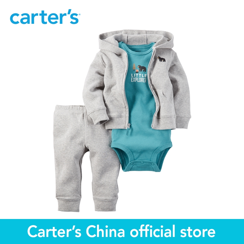Carter s 3pcs baby children kids Babysoft Cardigan Set 126G287 sold by Carter s China official