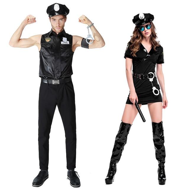 Disfraces para parejas del ejército de policía de