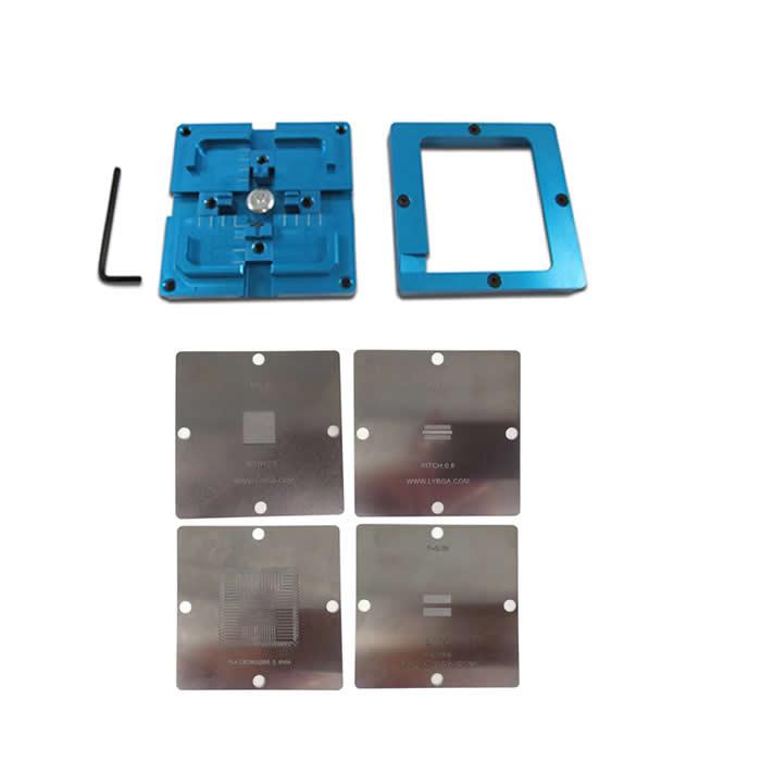 BGA Reballing 80mmx80mm PS4 Stencil K4B2G1646E DDR3 SDRAM 80mm reballing station