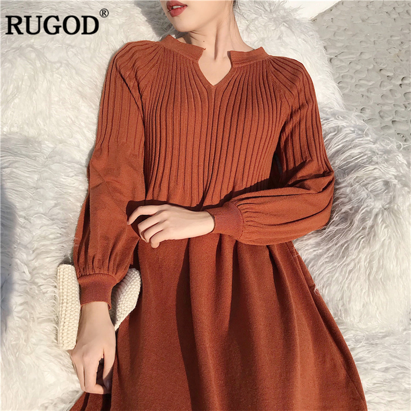 Dresses Systematic Womens Knitted Dress Solid Roll Neck Pockets Jumper Dresses Ladies Warm Knitting Autumn Winter Dresses Vestidos Mujer 2018