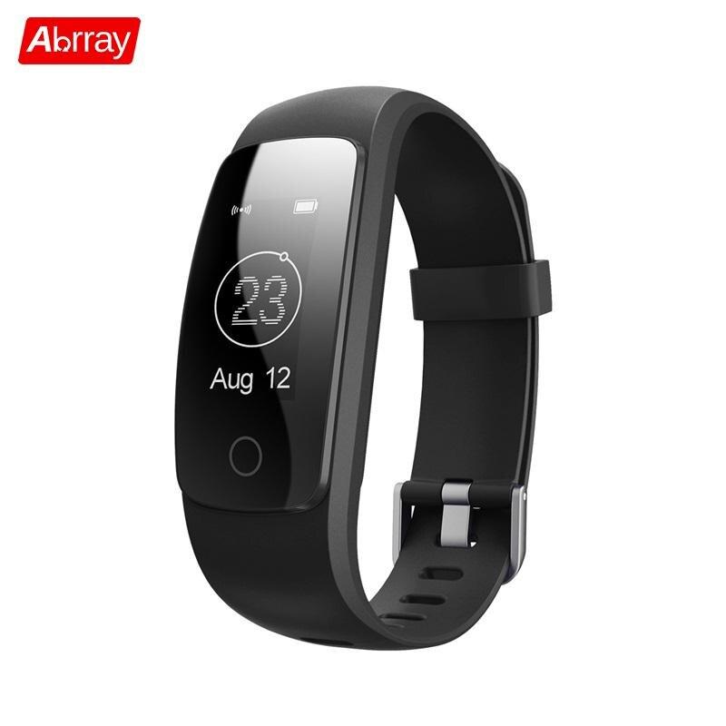 Abrray Intelligent Sport Watch Bluetooth Smart Wristwatch Detachable Fitness Wristband Heart Rate Sleep Monitor Digital Products