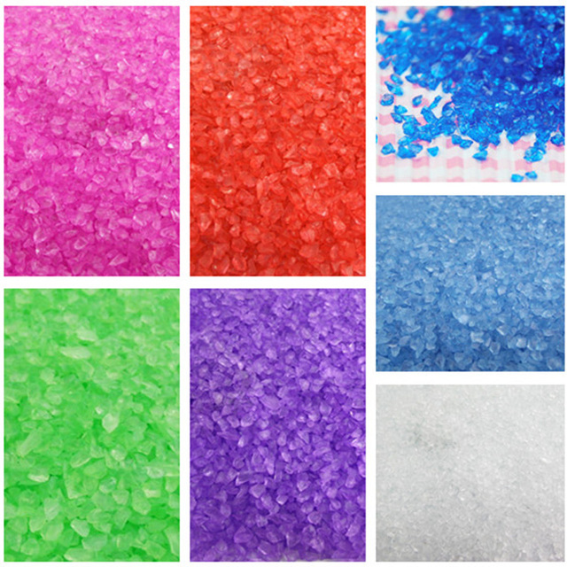 Landscaping Over Sand : Aliexpress buy multicolor crystal gravel glass sand