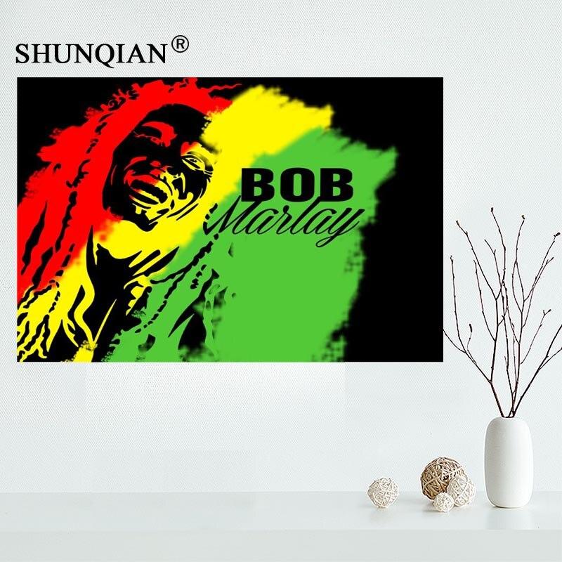 514 BOB MARLEY Art Wall Cloth Poster Print