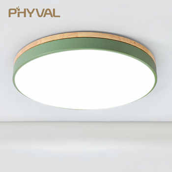 LED Ceiling Lamp Round 5cm Super Thin Surface Mounted Ceiling Light Living Room Bedroom Kitchen Macaroon Ceiling Hotel Lighting - Category 🛒 Lights & Lighting