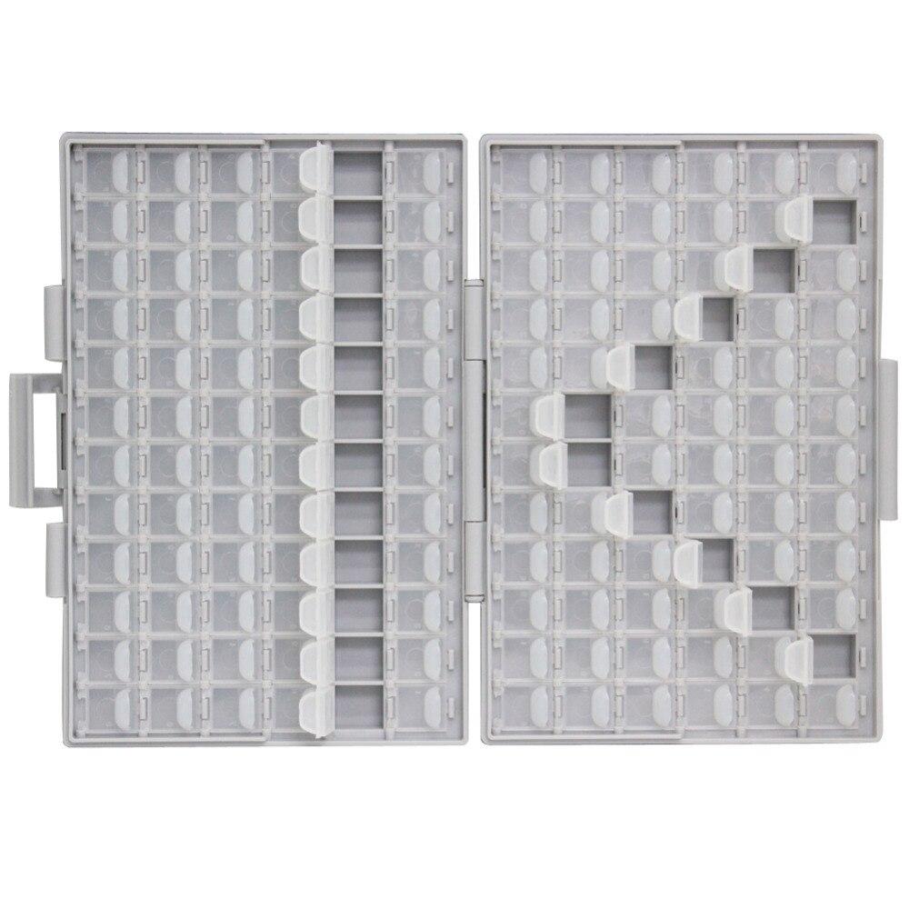 AideTek SMD хранения резистор SMT конденсатор с алюминиевой крышкой, электроника для хранения разного рода дисков и органайзеры прозрачный ящик для хранения ящик пластиковый боксал