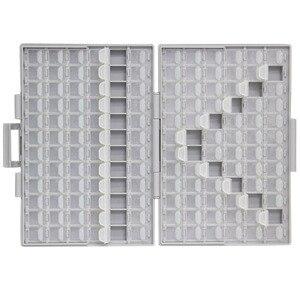 Image 2 - AideTek SMD 収納 smt 抵抗コンデンサエレクトロニクス収納ケース & 主催透明の収納ボックスプラスチック BOXALL