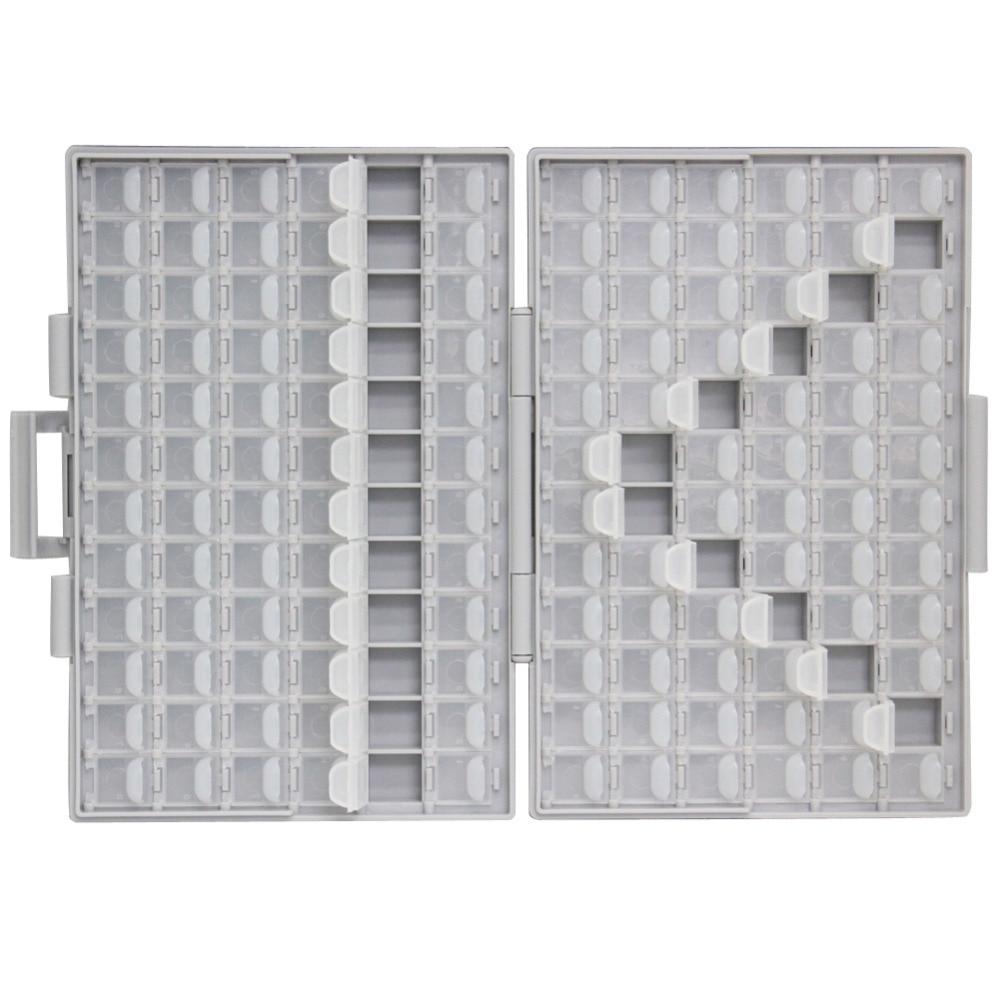 AideTek SMD storage Condensatore resistore SMT Electronics Custodie - Portautensili - Fotografia 2