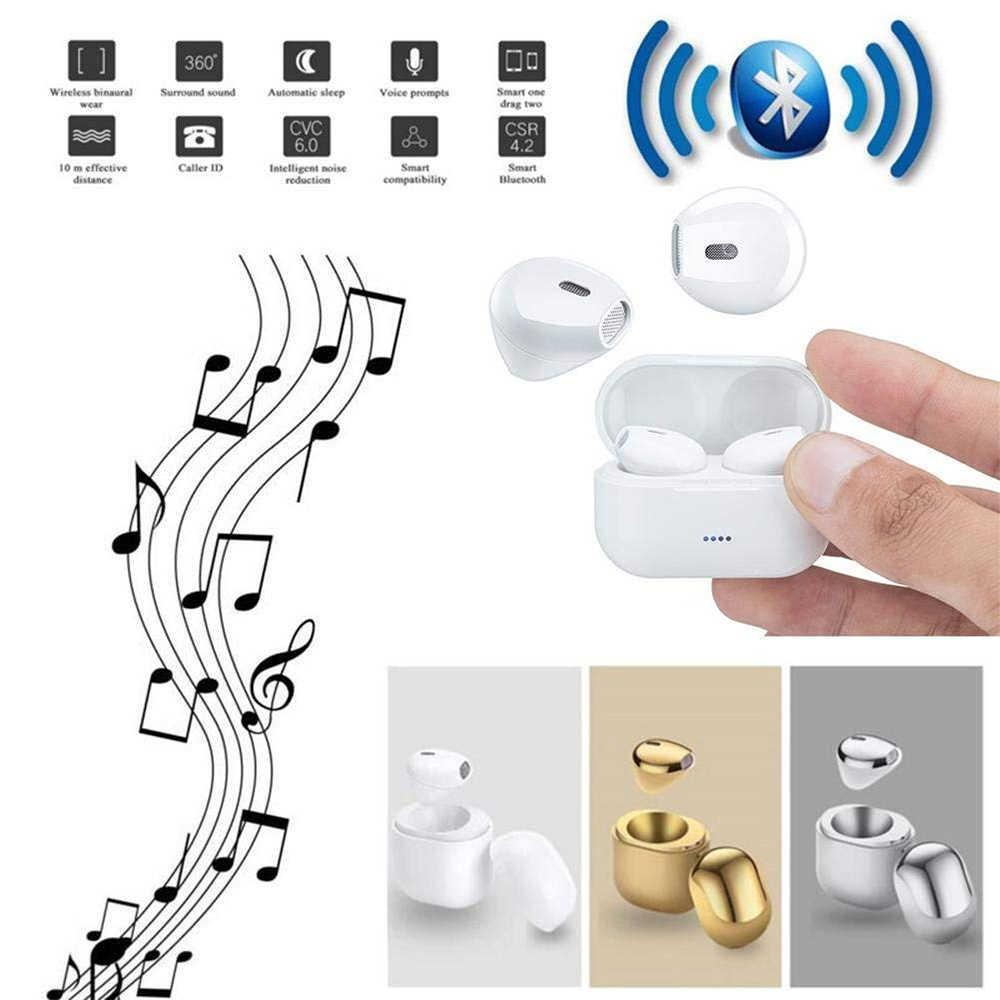 0244e4d53de ... XIAOWU 79g TWS IP8X Bluetooth Earphones I7 Mini Wireless Bluetooth4.2+EDR  Earbud Headset ...