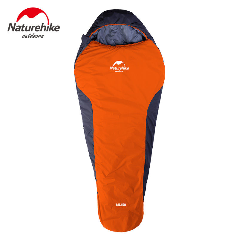 Ultralight Outdoor Mummy Sleeping Bag with Compression Sack Portable and Lightweight for Backpacking Camping Hiking Travelling nature portable multifuntional ultralight mini duck down mummy shape outdoor camping travel hiking sleeping bag 1100g 2 colors