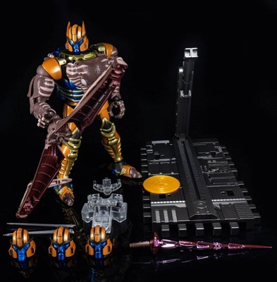 Collection de modèles de figurines primales de la guerre des bêtes BW tyrannosaure Dinobot Optimus