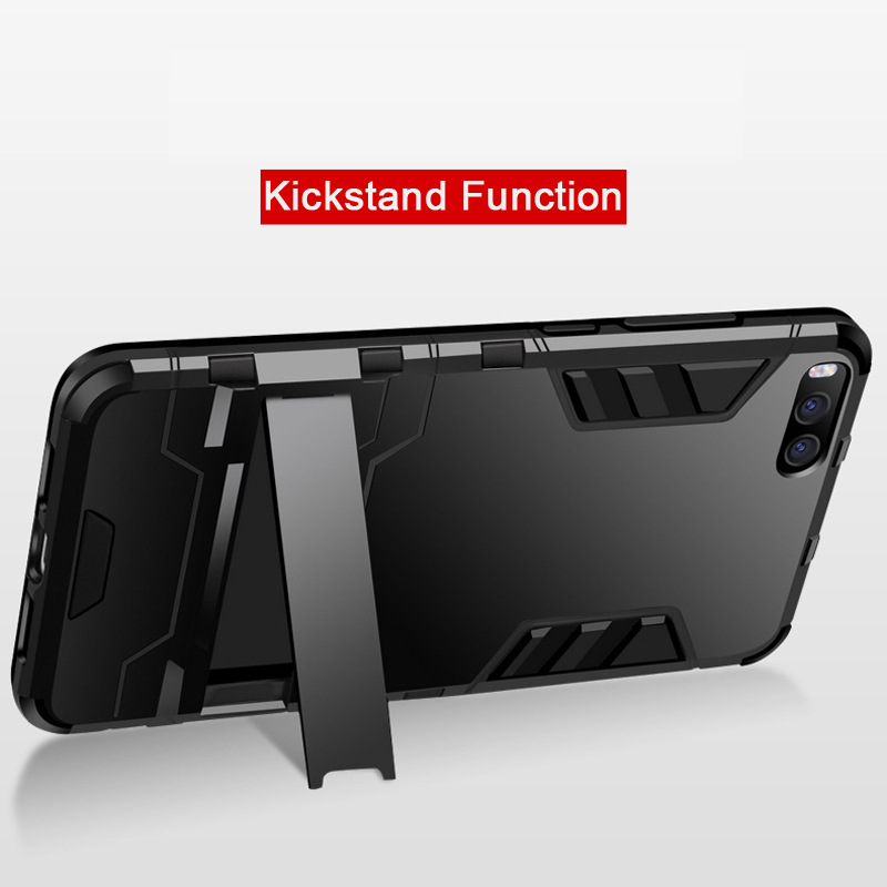 Image 5 - CAPSSICUM Mi6 Armor Case for XIAOMI MI6 PC+Silicone Hard Antiknock Shockproof Kickstand Back Cover Shell Stand High Quality-in Fitted Cases from Cellphones & Telecommunications