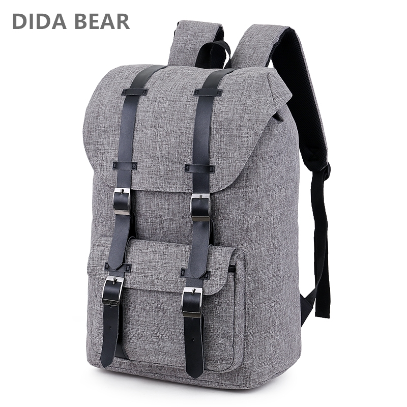 2018 Large Capacity Man Travel Bag Women Laptop Backpack Men Bags Waterproof Oxford Shoulder Bag Male Canvas Backpacks