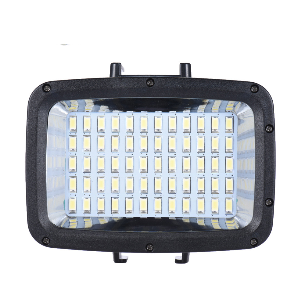 Andoer Mini 60pcs LED Video Light 1800LM 3 Modes Waterproof 5500K Fill in Light Lamp for