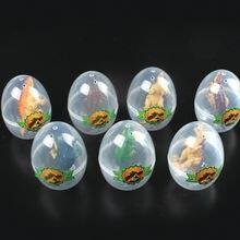 Модель динозавра 6 шт/компл пластиковые яйца для Юрского периода