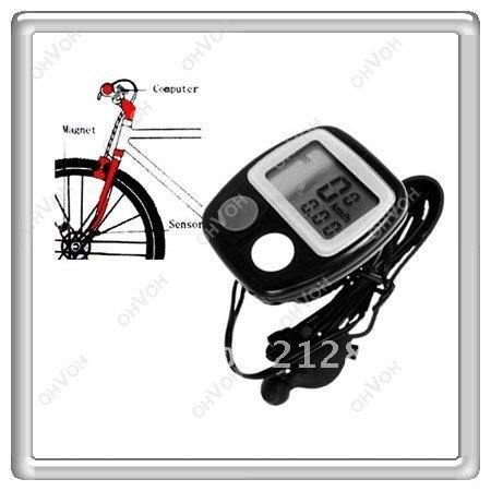 S5Y  Portable Bicycle Bike Cycle Digital Speedometer Odometer For Outdoors Sports