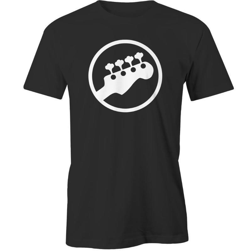 Shop Shirts Short Sleeve Zomer Crew Neck Mens Guitarist Player Musicians Logo T Shirts