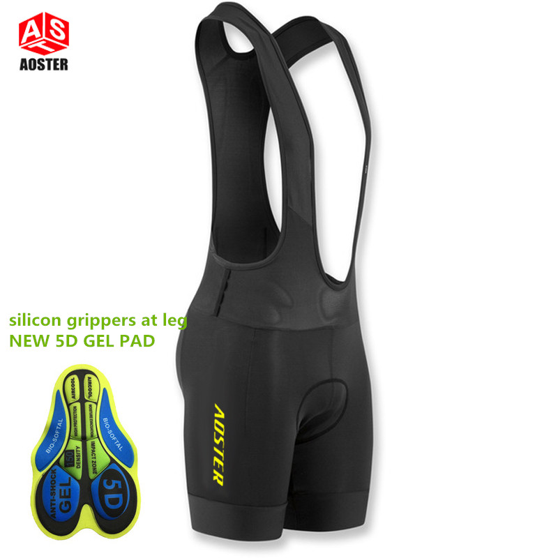 все цены на 2017 AOSTER PRO TEAM profession Race Cycling bib shorts lightweight bib pant 5D Lycra and High-density Pad for long time ride
