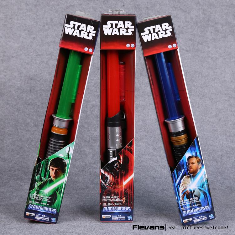 Star Wars Lightsaber Darth Vader Luke Skywalker Obi-Wan Cosplay Sword with LED Light Star Wars Laser Sword SWFG069 star wars lightsaber weapons cosplay sword with light