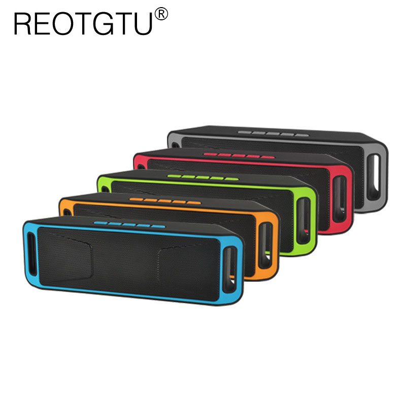 Wireless Bluetooth Speaker Portable Card Dual Speaker Mini Cannon Audio Mobile Computer Subwoofer Bluetooth 4.0 MP3 Player Box